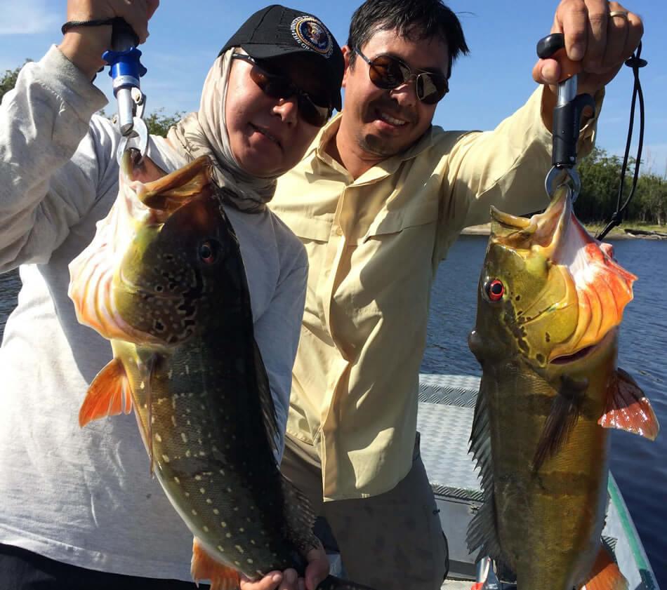 Pacotes de Pesca Esportiva do Tucunaré na Amazônia