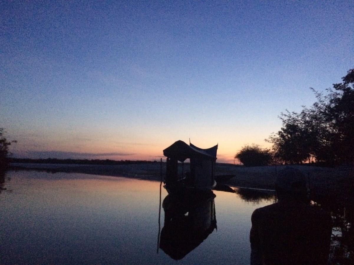 Acampamento e Pescaria Selvagem de Tucunarés na Amazônia