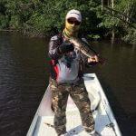 Pesca de Tucunaré nos Rios da Amazônia